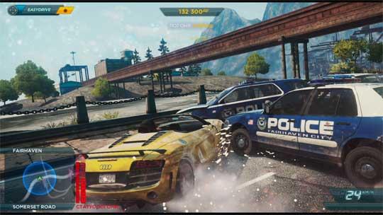 Автогонщик задержан полицией